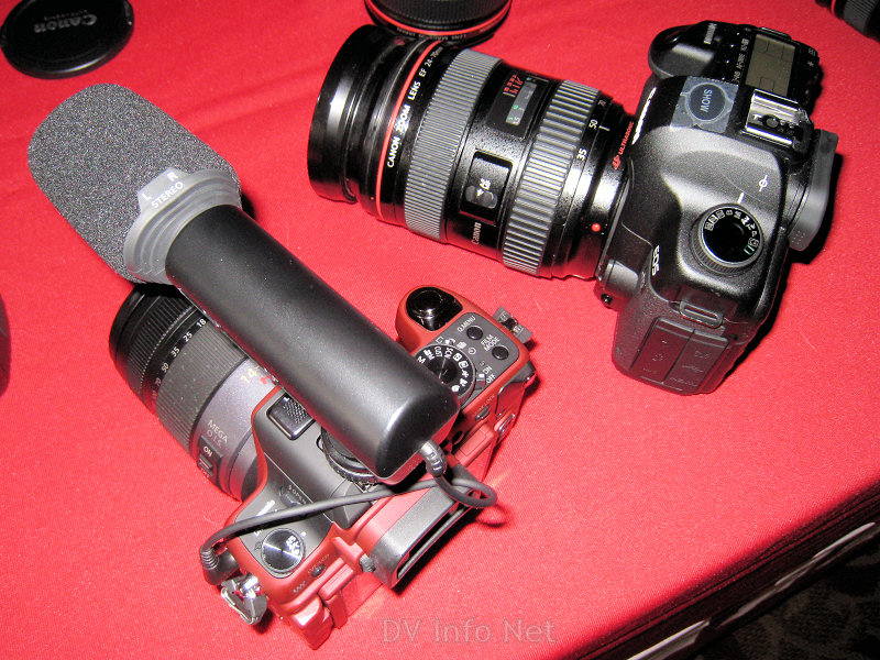 GH1 and Canon 5dMk2