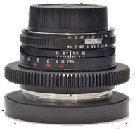 Modded Zeiss lens