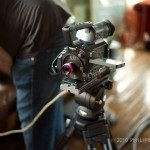 The toy lens on the AF-101
