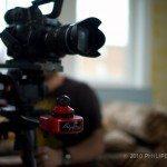 The 14-35mm Olympus F2 on the Philip Bloom Kessler Crane Pocket Dolly