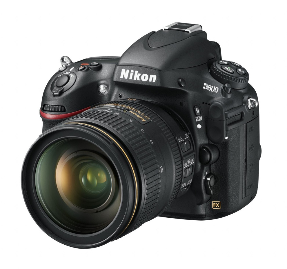 The Nikon D800. The first full frame full HD DSLR to challenge the ...