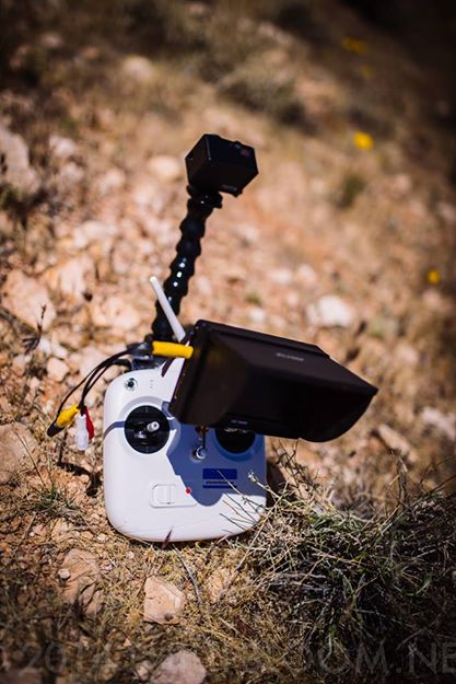 GoPro ZenMuse  FPV set up