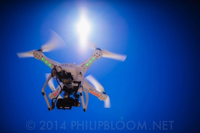 Phantom 2 with GoPro and ZenMuse