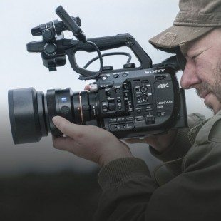 DP Mick Jones who made the FS5 launch film with the camera