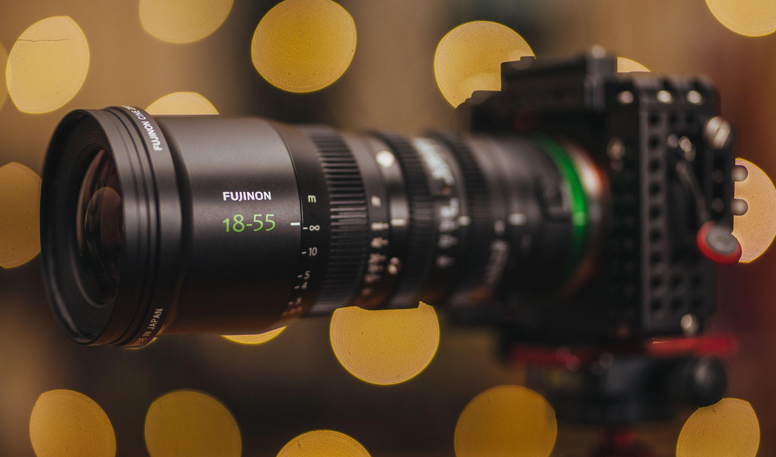 past een canon lens op een sony body