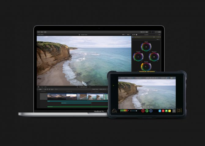Apple announce ProRes Raw and Atomos Recorders to support it within