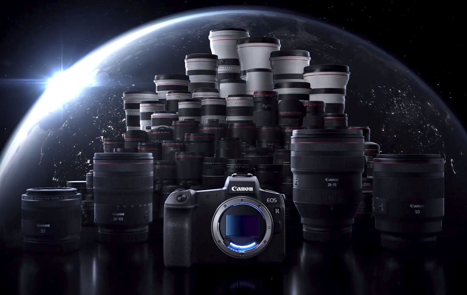 Canon finally unveil their first mirrorless full frame