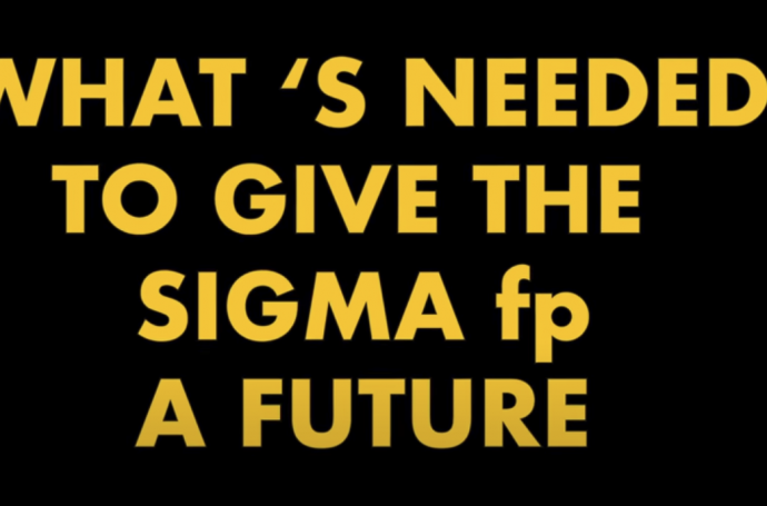 Does the Sigma fp have a future?